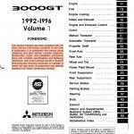 Mitsubishi 3000gt service manual