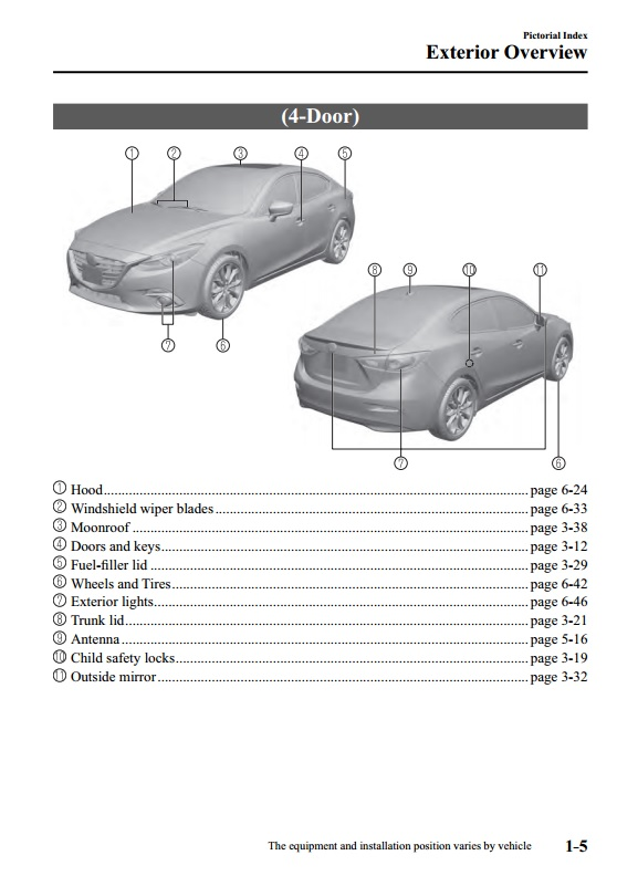 Download Mazda 3 Owners Manual