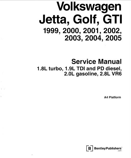 Vw Bora Service Manual Pdf