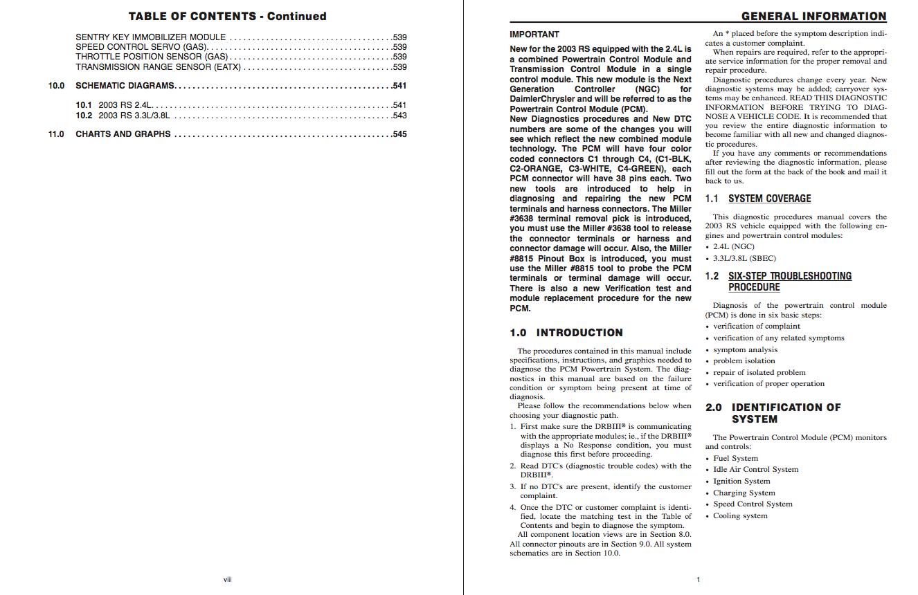 download chrysler voyager service and repair manual    zofti
