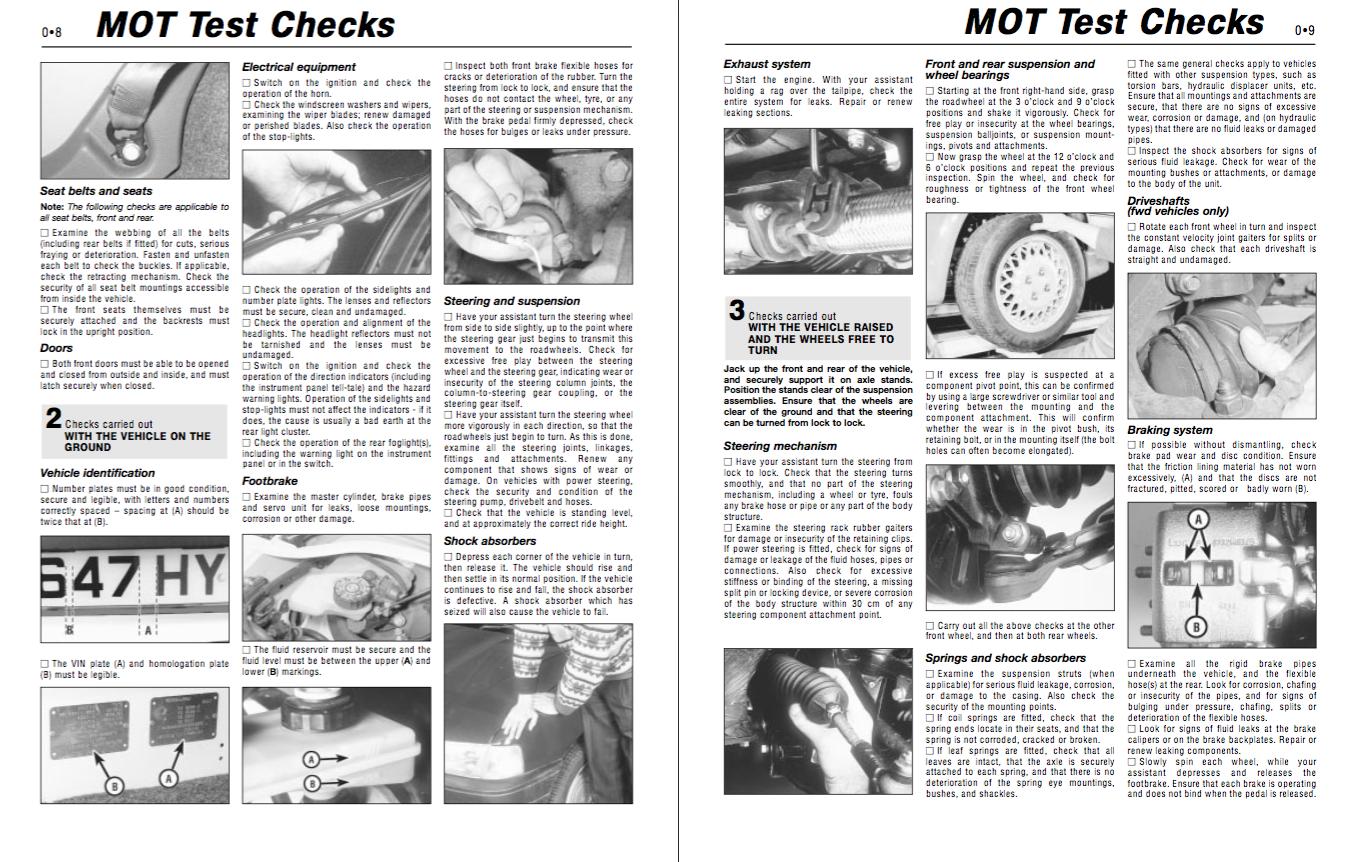 ford mondeo service and repair manual free