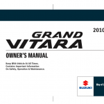suzuki grand vitara free manual