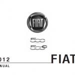 Fiat 500 user guide