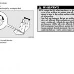 Mitsubishi Lancer service manual