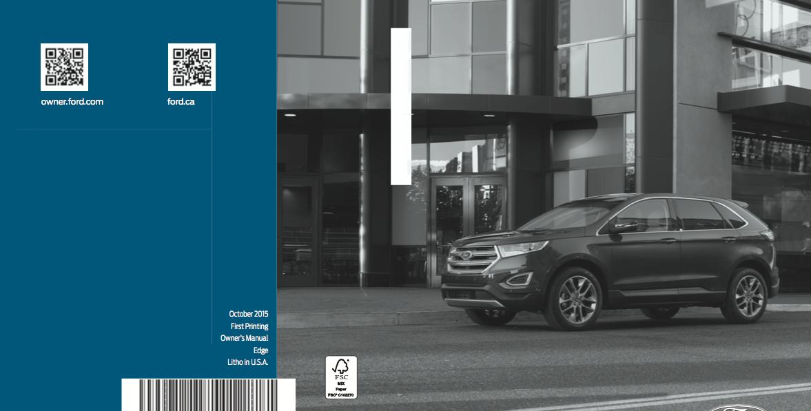 ford edge owners manual zofti
