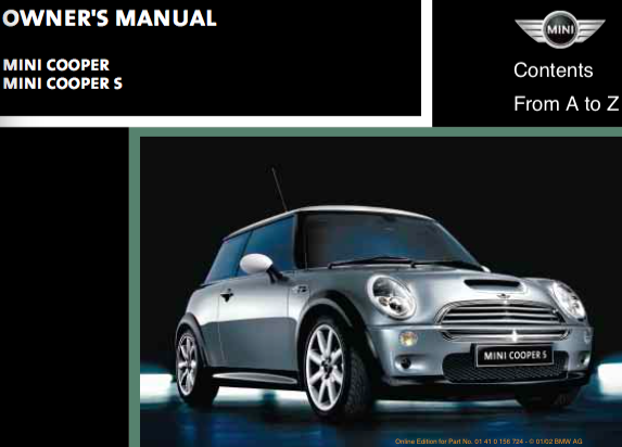 download mini cooper owner s manual zofti free downloads. Black Bedroom Furniture Sets. Home Design Ideas