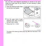 Toyota Avalon handbook manual