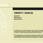 Hyundai Accent owner's manual