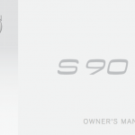 Volvo S90 handbook user guide