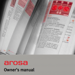 Seat arosa owner's manual
