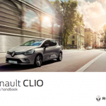 Renault clio handbook userguide