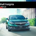 Vauxhall insignia handbook manual