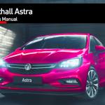 Vauxhall Astra handbook userguide