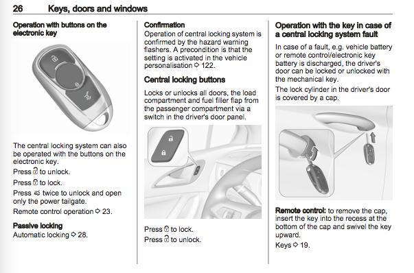 Vauxhall Workshop Manuals