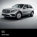 Mercedes benz GLC owner's manual