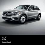 Mercedes benz GLC owner's manual