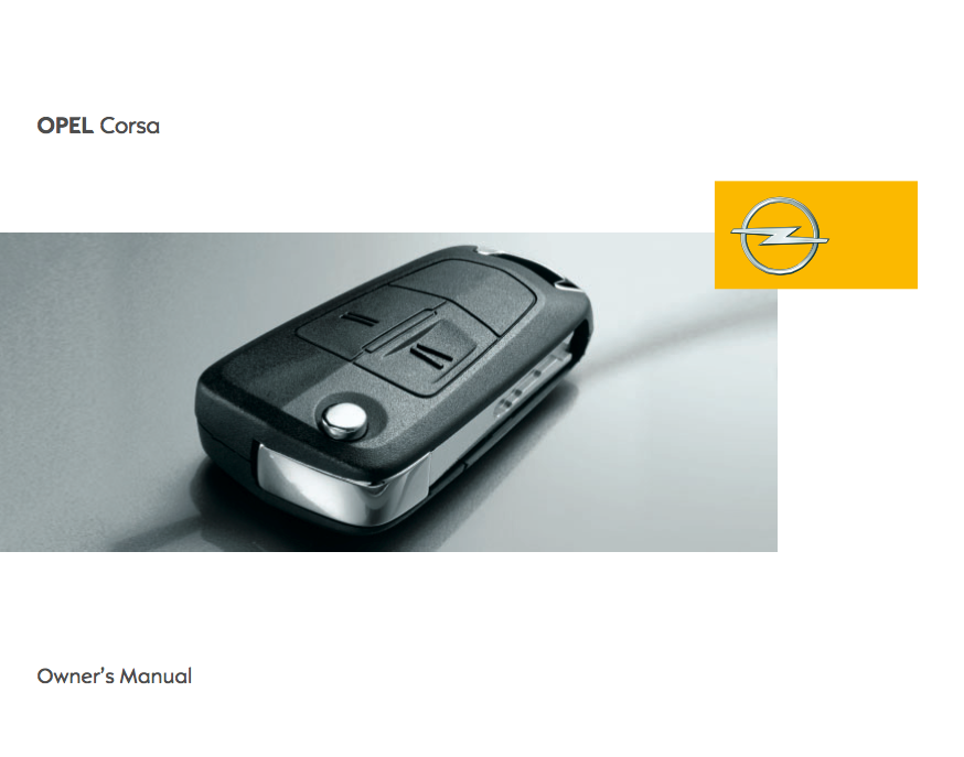 download 2009 vauxhall  u0026 opel corsa owner u2019s manual    zofti