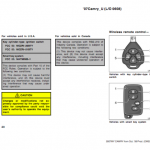 Toyota Camry service and maintenance manual