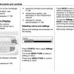 Service and repair manual for Opel Corsa
