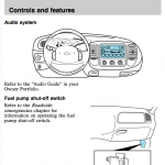 Owner's Ford Expedition manual