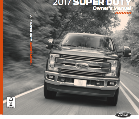 Download 2017 Ford F 250 Owner S Manuals Zofti Free
