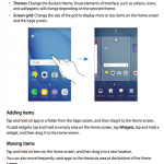 Samsung galaxy manuals