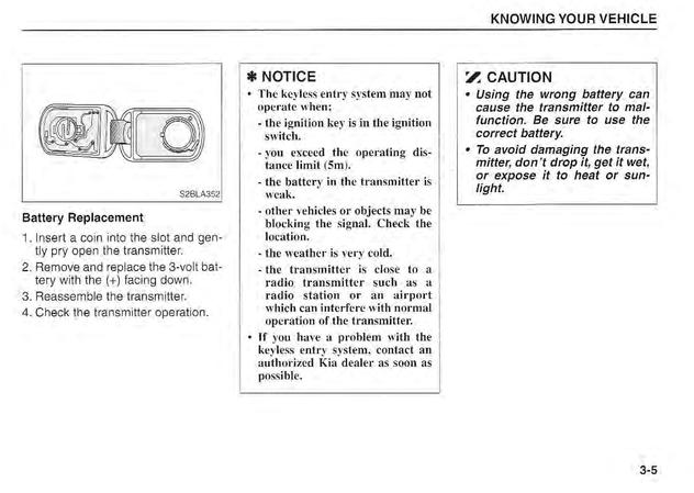Download 2003 Kia Sorento owner's manual / Zofti - Free downloads