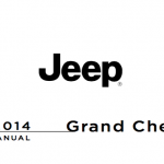 Jeep Grand Cherokee user guide