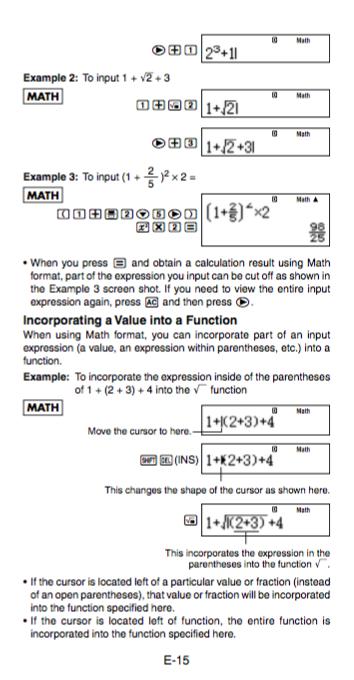 Casio Fx 82es Calculator User S Manual Zofti Free Downloads