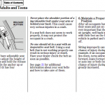 Acura RL handbook manual