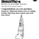 hoover spinscrub manual