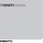 Kia sorento owners manual