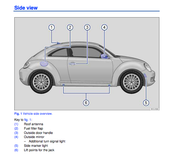volkswagen beetle owners manual zofti