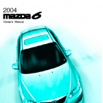 Mazda 6 user guide