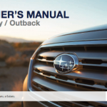 subaru outbacks users guide