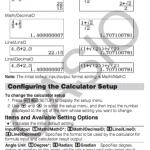 Casio fx-991 manuals