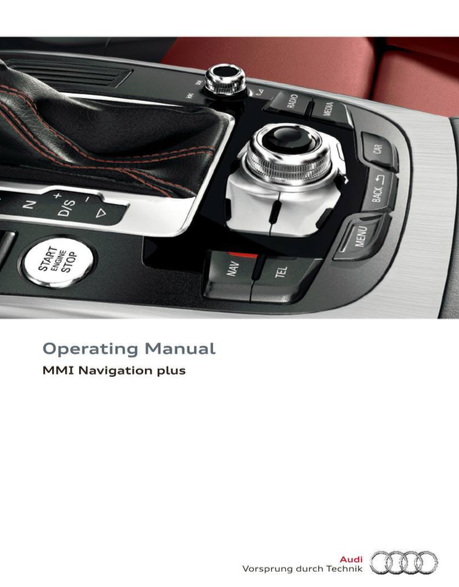 Download Audi MMI Navigation plus operating manual / Zofti - Free