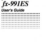 casio fx-115 manuals