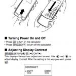 Casio fx-115es users manual