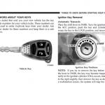2007 Dodge owner's manual
