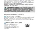 Ford Escape service maintenance manual