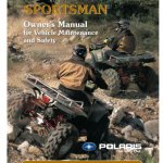 Polaris Sportmanu manual