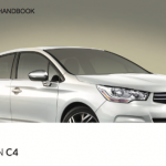 Citroen C4 handbook user's guide