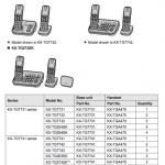 Panasonic Kx-TGA470 user's guide