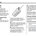 Chevrolet handbook user's manual