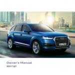 Audi Q7 handbook user's guide