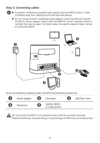 Download Huawei B315 user manual / Zofti - Free downloads