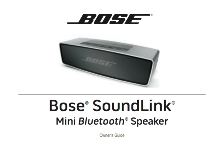 Download Bose Soundlink Mini User Manual Zofti Free Downloads