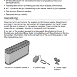 Bose user's guide