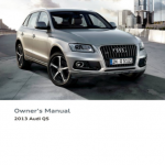 Audi handbook user's guide